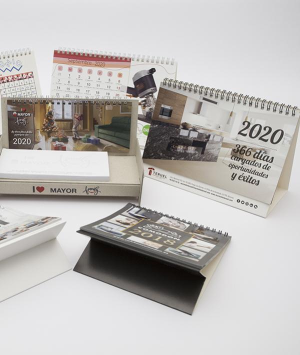 Impresión de calendarios